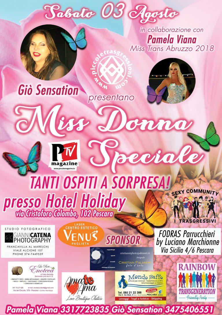 Locandina del Miss Donna Speciale